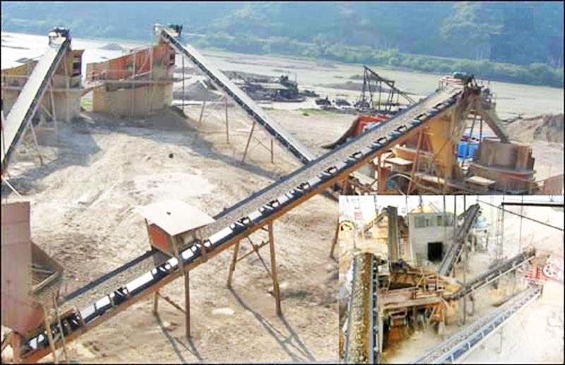 碎石场生产线