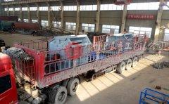 细碎机发往九江 助力石灰石制砂生产线产量激增